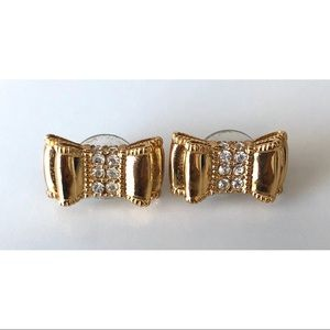 Kate Spade- Double Gold Bow Stud